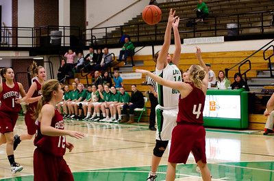 Pierre Girls JV Basketball - Roosevelt 12/19/10