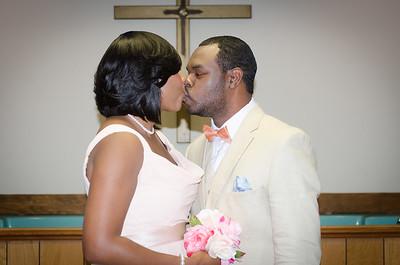 Tamala and Rodrick Wedding