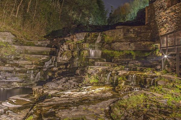 Ledges Hotel Waterfall, Hawley PA