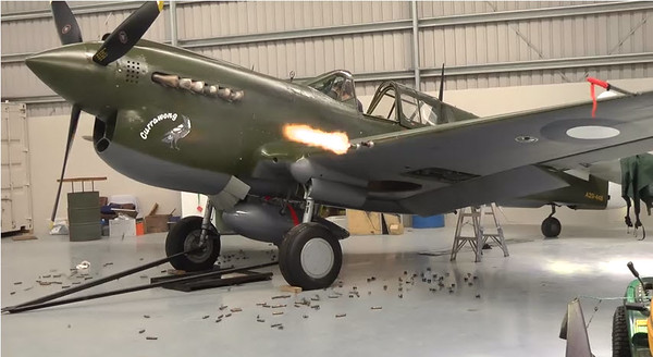 P-40 Warhawk American figther WWII