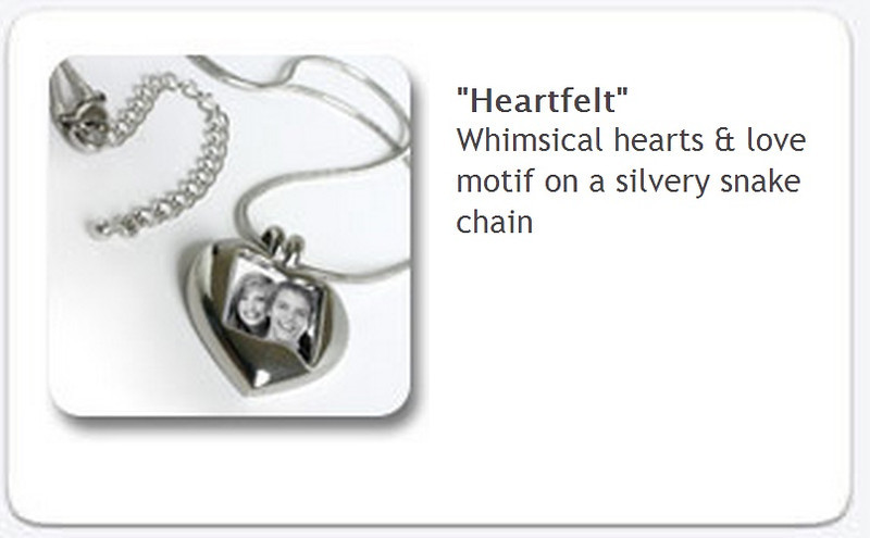Portrait Necklace - Heartfelt-  $35