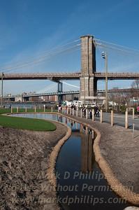 Brooklyn Bridge Park Stream