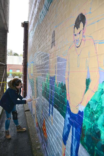 O+ mural in North Adams - 050219