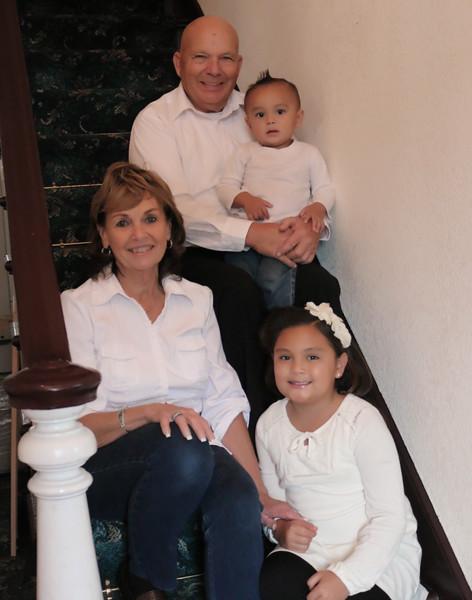 Shirley Roberts family