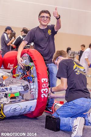 ROBOTICON 2014 Practice & More