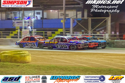 National Saloon Stock Cars, Ipswich, 19 September 2020