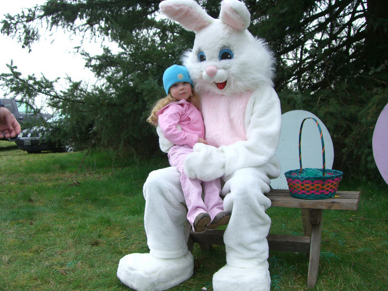 Easter bunny!
