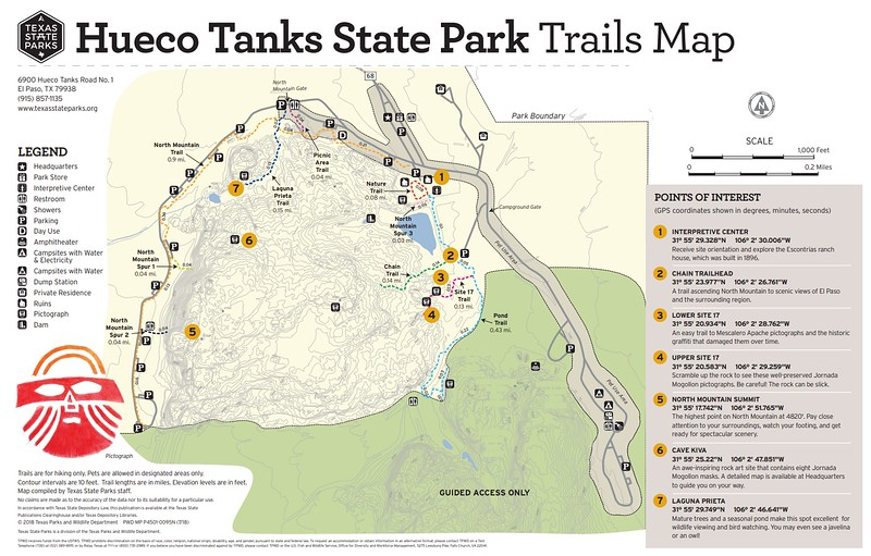 Hueco Tanks State Park & Historic Site (Trails)