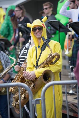 Boone Village Halloween Jazz Band