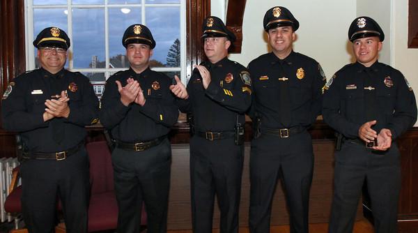Gloucester Public Safety Badge Ceremony - 10/24/13