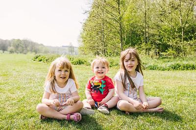 Sophie, Emma & George