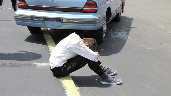 5/7/2014 Mock Crash Demonstration at High School