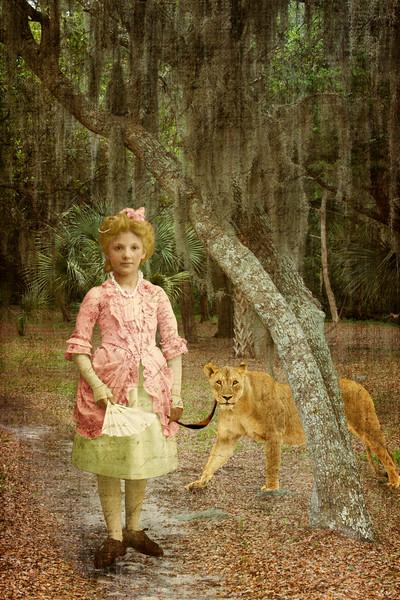 Trudi and the Lioness