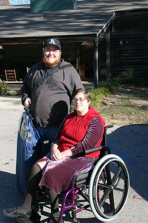Anne Donavan and Blake Clark November 2008