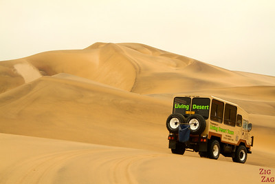 4WD in the sand dunes, Swakopmund, Namibia photo 1