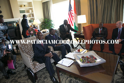 Cote d'Ivoire Delegation led by His Excellency Prime Minister Duncan - Morning Meetings