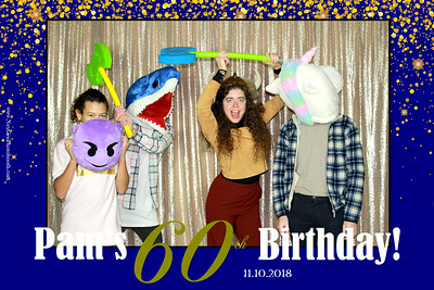 Pam's 60th Birthday Party 11/10/18