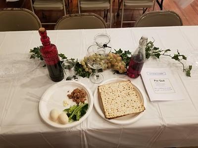 RCIA Seder Meal 2019