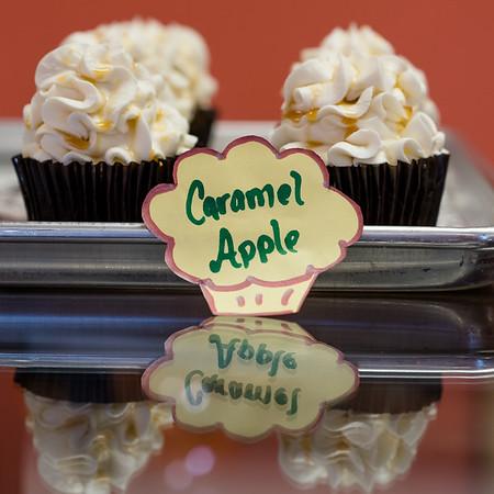 a La cupcakes