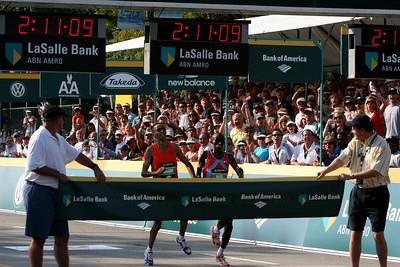 Chicago Marathon 2007-2009