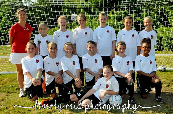 2010-2011 CUFC U10G Team and Individual