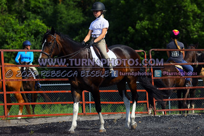 Jr Rider Equitation (on the rail) 07/26/20