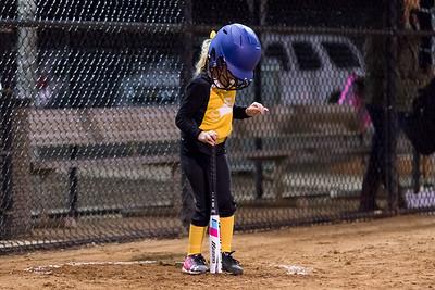 Hattie-1st Softball Game