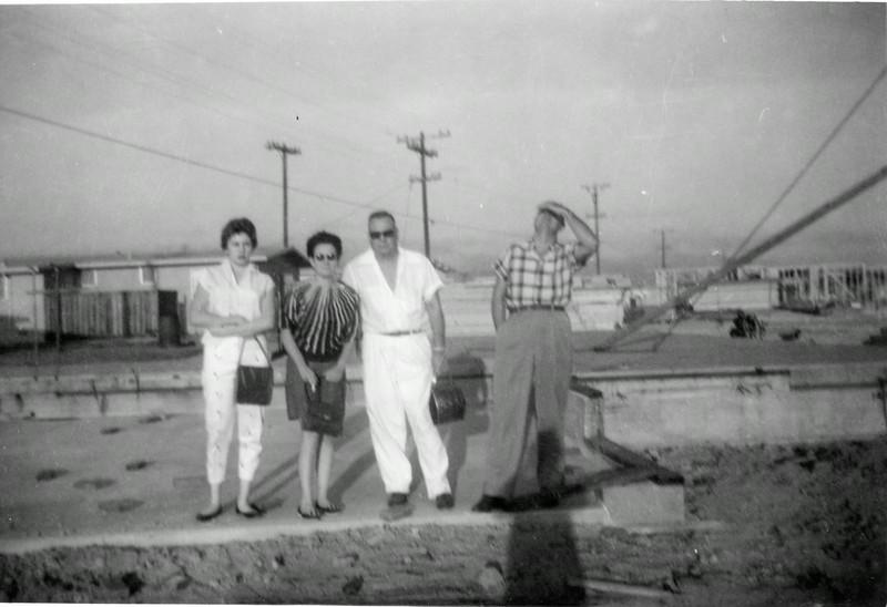 Darla Stone, Mrytle  Wasson McCoy, John McCoy, Rayburn Howell, Salinas, CA