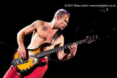 Red Hot Chili Peppers - LG Arena, 19th November 2011