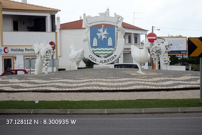 Traffic Circle Decoration : Guia, Algarve [Vivienne]