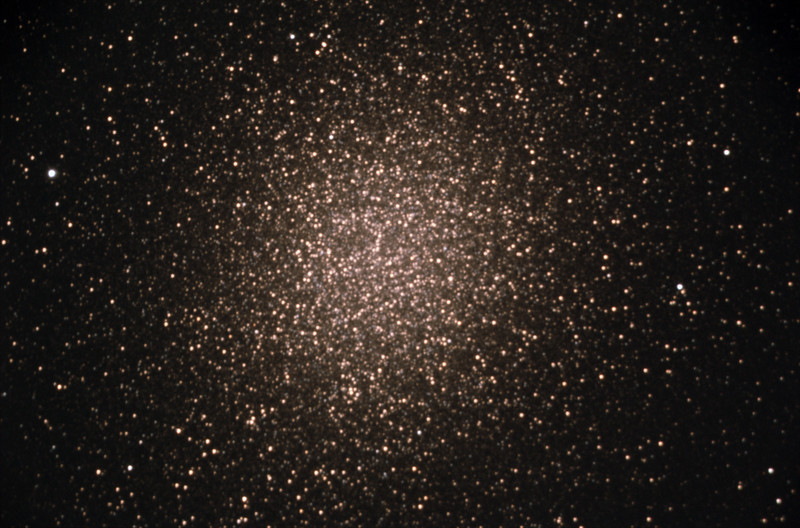 M14 Guiding test with C80 - NGC5139 Omega Centauri Globular Cluster - 10/4/20 (Processed stack)