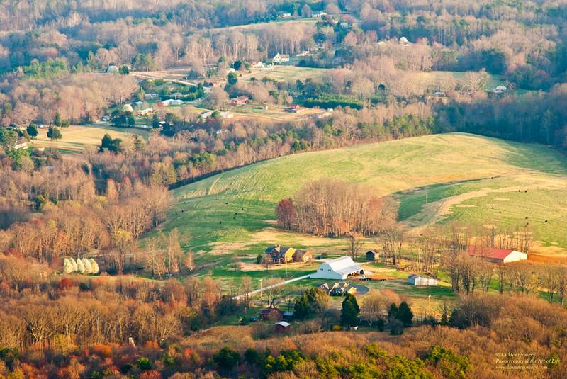 Beautiful Hills of North Carolina