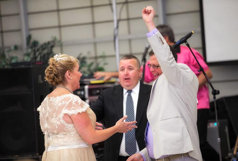 Groom celebrating after ceremony.jpg