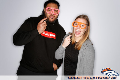 Broncos Guest Relations Party | 02.09.20