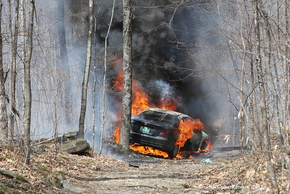 Car Crash in Pomfret