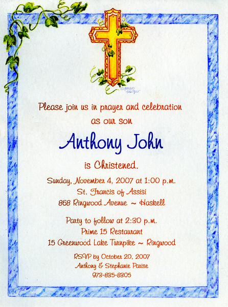 AJ's Christening 11-04-07