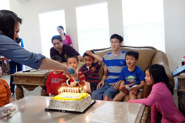 Tony's 16th Birthday
