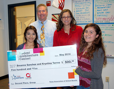 05-13-2014 Stony Point students win Claycomb architecture contest