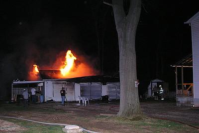 03-28-09 Three Rivers FD Garage Fire