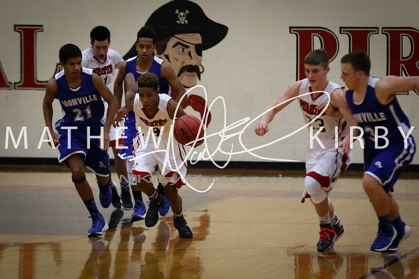 Pirate Basketball '15-'16