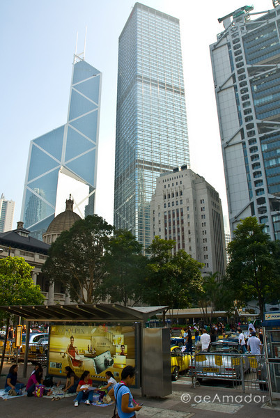 aeamador©-HK08_DSC0094  Hong Kong, downtown area, near ifc tower. I was very impressed by the affluence evidenced in this area. Hong Kong is quite a chic and fine place.