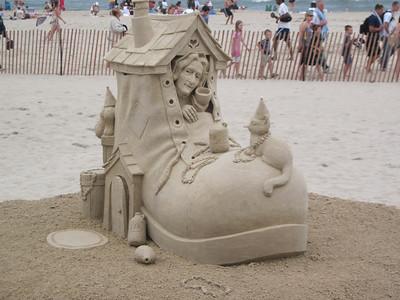 Sand Castle Competition, Hampton Beach, June 26, 2011
