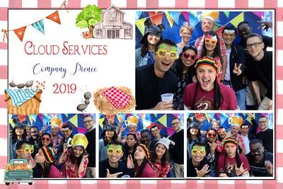 Cloud Services Company Picnic 2019