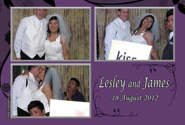 Lesley & James Wedding