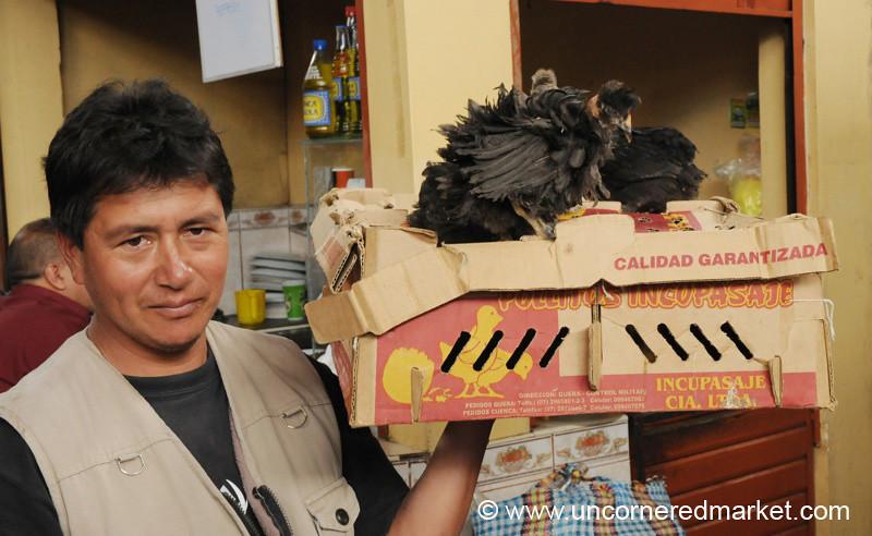 Chicken in a Box - Cajamarca, Peru