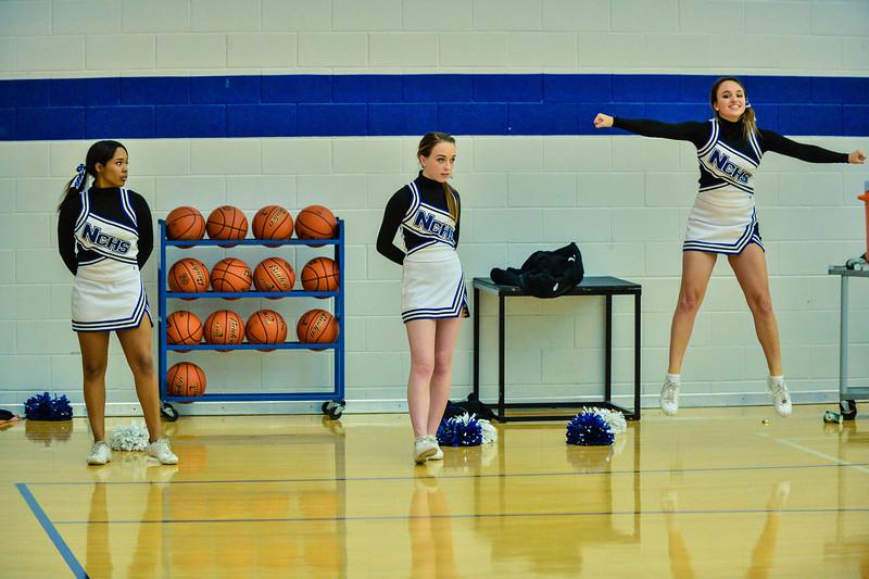 Basketball Varsity Boys vs  Bowie 01-28-14