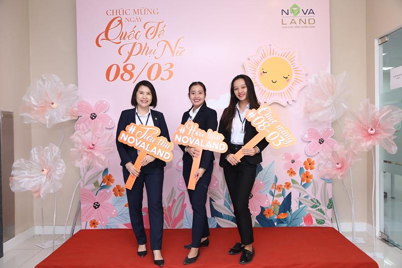 Novaland Group   Binh Khanh Office Women's Day March 8 instant print photo booth   Chụp hình lấy liền Sự kiện 8 Tháng 3   Photobooth Saigon