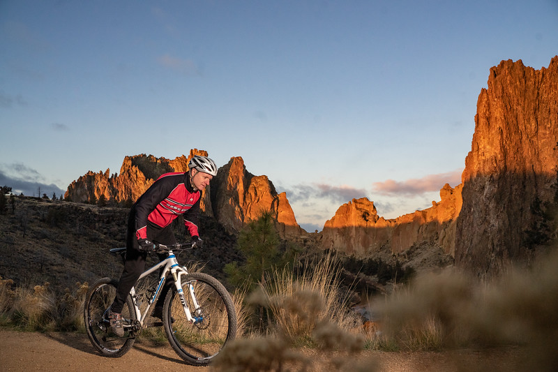 Smith Rock Sunrise — Mtn. Bike
