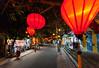 Street Lanterns, Hoi An, Vietnam