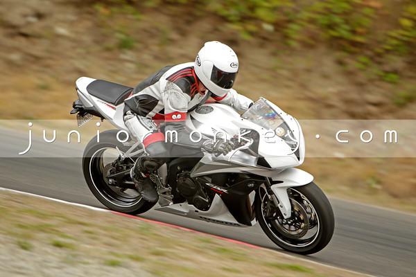 Honda - White 600RR
